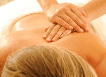 Regular massage relieves tension and pain